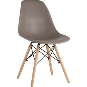 Стул Stool Group Eames темно-серый 8056PP light warm grey dual