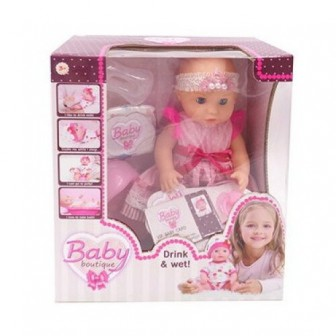 Кукла ABtoys Baby boutique, 25 см, PT-01036