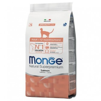 Корм для кошек Monge Natural Superpremium с лососем 1.5 кг