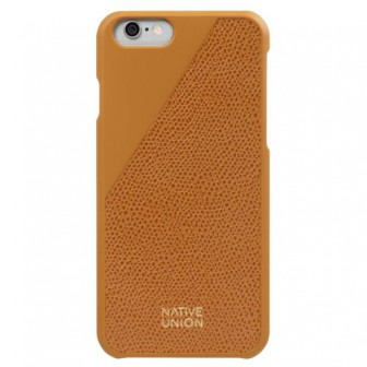 Чехол-накладка Native Union CLIC LEATHER для Apple iPhone 6/iPhone 6S gold