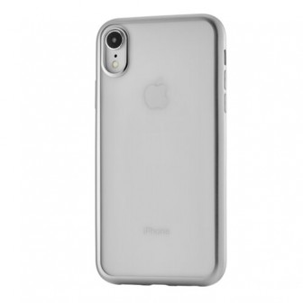 Чехол-накладка uBear Frame Tone Case для Apple iPhone Xr для Apple iPhone Xr silver