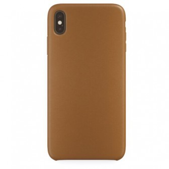 Чехол-накладка uBear Capital Leather для Apple iPhone Xs Max brown