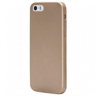 Чехол-накладка uBear Coast Case для Apple iPhone 5/iPhone 5S/iPhone SE gold