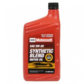 Моторное масло Ford Motorcraft SAE 5W20 Synthetic Blend 0.946 л