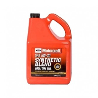 Моторное масло Ford Motorcraft SAE 5W20 Synthetic Blend 4.73 л