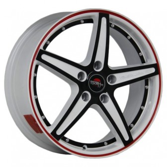 Колесный диск Yokatta Model-11 6x15/4x100 D60.1 ET36 W+B+RS+BSI
