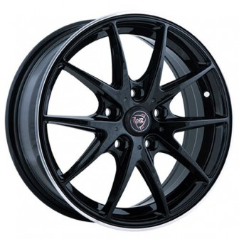 Колесный диск NZ Wheels F-34 6x14/4x100 D60.1 ET43 BKPL