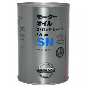 Моторное масло Nissan SN Strong Save X 5W-30 1 л