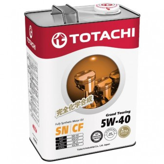 Моторное масло TOTACHI Grand Touring 5W-40 4 л