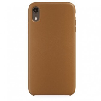 Чехол-накладка uBear Capital Leather для Apple iPhone Xr brown