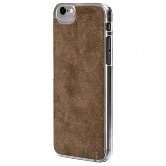 Чехол-накладка uBear Art Leather для Apple iPhone 6/iPhone 6S grey