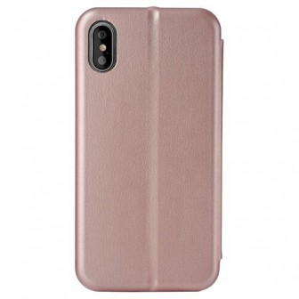 Чехол-книжка uBear Wallet для Apple iPhone X rose gold
