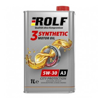 Моторное масло ROLF 3-Synthetic 5W-30 1 л
