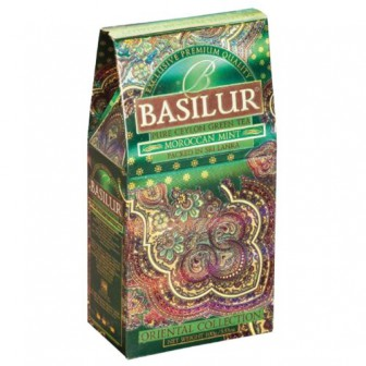 Чай зеленый Basilur Oriental collection Moroccan mint, 100 г
