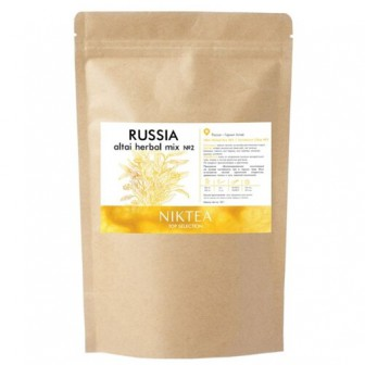 Чай зеленый Niktea Top selection Алтайский сбор №2, 100 г