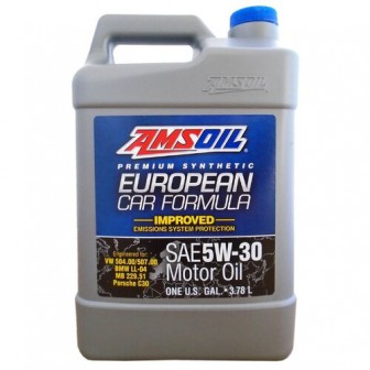 Моторное масло AMSOIL European Car Formula Improved ESP Synthetic Motor Oil 5W-30 3.78 л