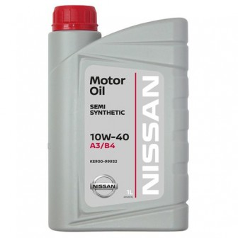Моторное масло Nissan 10W-40 SS A3/B4 1 л