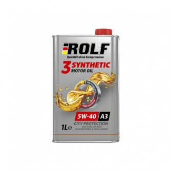 Моторное масло ROLF 3-Synthetic 5W-40 1 л