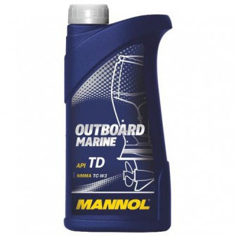Моторное масло Mannol Outboard Marine 1 л