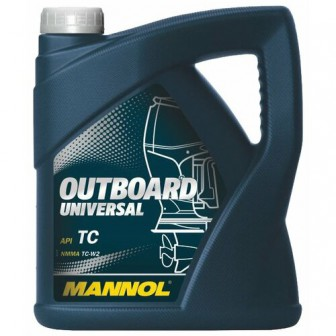 Моторное масло Mannol Outboard Universal 4 л