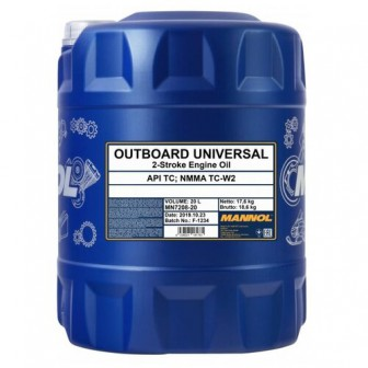 Моторное масло Mannol Outboard Universal 20 л