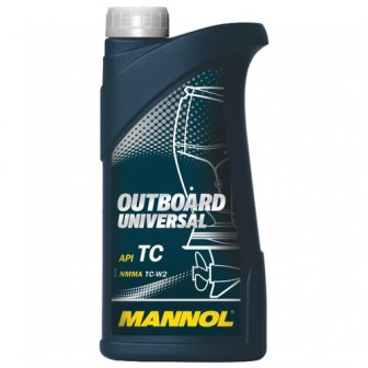 Моторное масло Mannol Outboard Universal 1 л