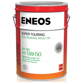 Моторное масло ENEOS Super Touring 5W-50 20 л
