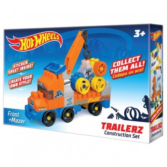 Конструктор Bauer Hot Wheels 722 Trailerz Frost + Mazer