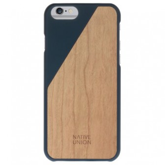 Чехол-накладка Native Union CLIC WOODEN для Apple iPhone 6/iPhone 6S marine