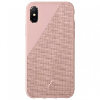 Чехол-накладка Native Union CLIC CANVAS для Apple iPhone Xs Max rose