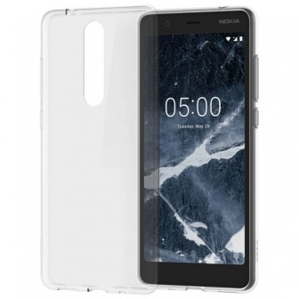 Чехол-накладка Nokia CC-109 для Nokia 5.1 transparent