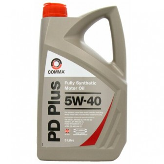 Моторное масло Comma PD Plus 5W-40 5 л