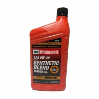 Моторное масло Ford Motorcraft SAE 5W30 Synthetic Blend 0.946 л