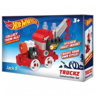 Конструктор Bauer Hot Wheels 715 Truckz Jack 8