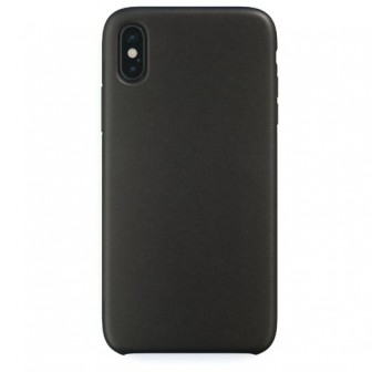 Чехол-накладка uBear Capital Leather для Apple iPhone X/Xs black