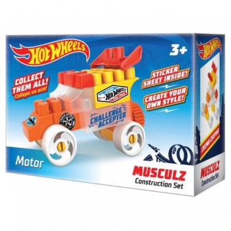 Конструктор Bauer Hot Wheels 712 Musculz G Motor
