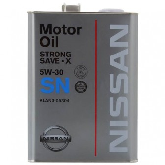 Моторное масло Nissan SN Strong Save X 5W-30 4 л
