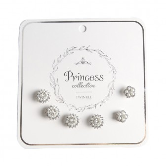 TWINKLE PRINCESS COLLECTION Заколки Pearls 6 шт.