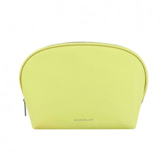 WANDERLUST Косметичка Wanderlust Saffiano Big Yellow