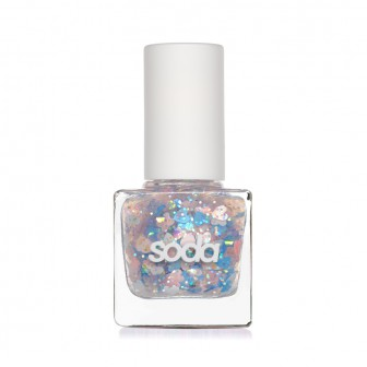 SODA GLITZY NAILS #allthatglitters ЛАК ДЛЯ НОГТЕЙ