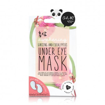 OH K! GINSENG & EUCALYPTUS UNDER EYE MASK Маска увлажняющая и выравнивающая тон кожи для зоны вокруг глаз