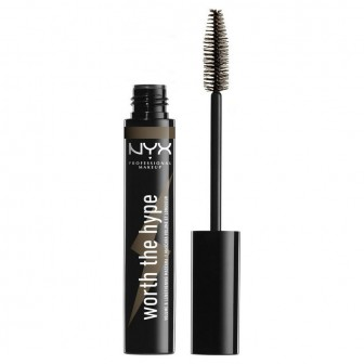 NYX Professional Makeup Цветная тушь. WORTH THE HYPE VOLUMIZING & LENGTHENING COLORED MASCARA