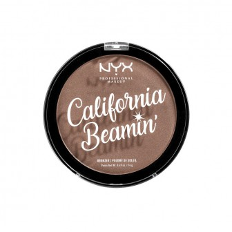 NYX Professional Makeup Бронзирующая пудра для лица и тела. CALIFORNIA BEAMIN' FACE & BODY BRONZER