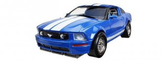 Happy Well Трансформер-машина 3 в 1 Ford Mustang 1:24