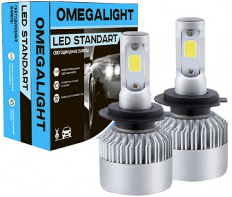 Omegalight H27 2400lm 2шт