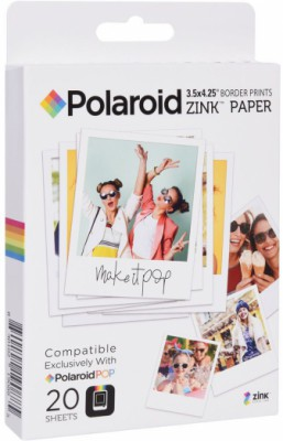 Polaroid Zink POP 3.5x4.25 на 20 фото