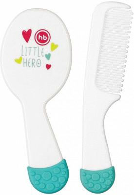 Happy Baby COMB & BRUSH SET (бело-голубой)