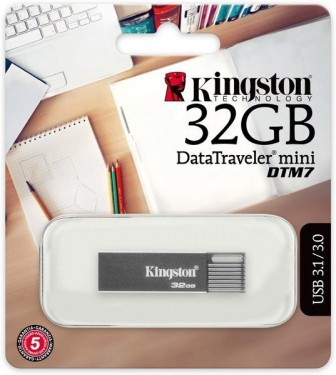 Kingston DTmini7 32Gb (серебристый)