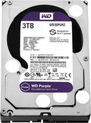 WD Purple 3TB 3,5