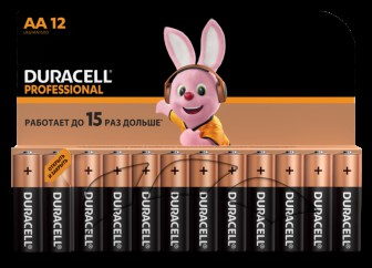 Duracell Professional AA (12шт.)